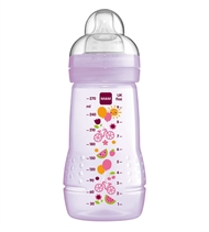 MAM Babyflasche Easy Active, 270 ml, lila