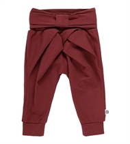 Babyhose Bow Pants, Müsli by Green Cotton, Chocolate