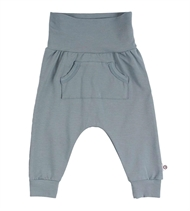 Baby Pocket Pants, Müsli by Green Cotton, Lagoon Green