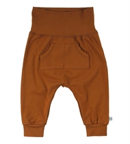 Baby Hose mit Tasche, Müsli by Green Cotton, Ocher