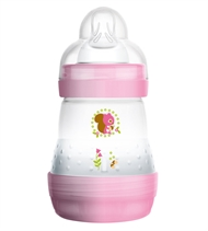 MAM Babyflasche Easy Start Anti Colic, 160 ml, rosa