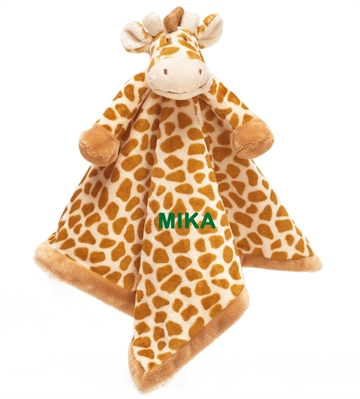 schmusetuch giraffe mit namen. Black Bedroom Furniture Sets. Home Design Ideas