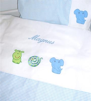 bettw sche mit motiven f r babys babygeschenke mit namen. Black Bedroom Furniture Sets. Home Design Ideas